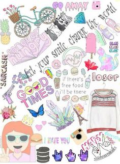 Image via We Heart It #background #Collage #overlay