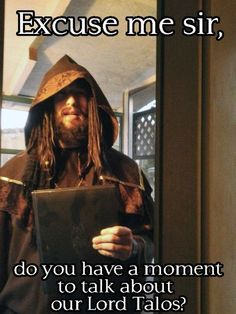 Skyrim likes missionary work too. Elder Scrolls Memes, Elder Scrolls Skyrim, Gamer Humor, Gaming Memes, Arrow To The Knee, Skyrim Funny, Nerd, Video Game Memes, Funny Quotes