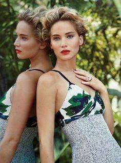 Jennifer Lawrence for Vanity Fair.