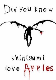 Shinigami love apples by DaveBot