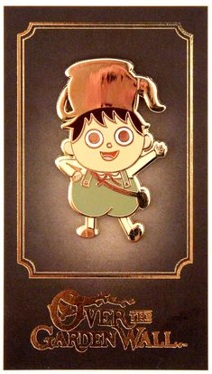 Over The Garden Wall (Greg) Enamel Pin