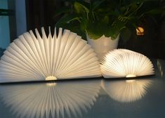LAMPE DESIGN ORIGINALE ET NOMADE EN FORME DE LIVRE 2 TAILLES BOOK LIGHT PAR GINGKO