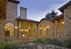 Jon Luce Builder - Tour Homes - Exteriors Tuscan House, Clay Tiles, Exterior, Tours, House Design, Mansions, House Styles, Home Decor, Decoration Home
