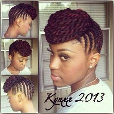 Natural Nigerians on Facebook.   Up do with natural hair!!