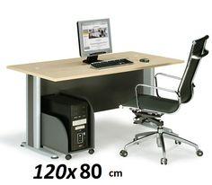Γραφεία : BASIC γραφείο 120x80 ΕΟ996 Beech