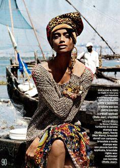stella jean skirt in diva moda magazine fashion editorial
