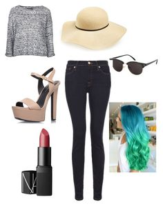 """""""Sans titre #203"""" by manonvantwembeke on Polyvore featuring mode, Topshop, 7 For All Mankind et NARS Cosmetics"""