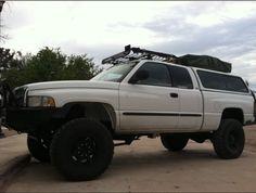 Second gen dodge ram 1500, off road racks