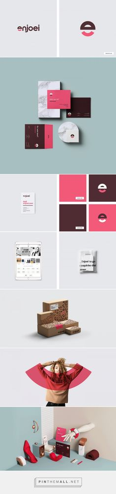 Enjoei brand identity by Sweety & Co.