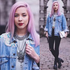 It's all the rage these days..: Double Denim - LFW day 1