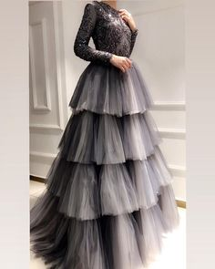 Buy Online gowns for women in India. Aasvaa has the Best Collection of Beautiful Gowns, party wear gowns, long gowns, wedding gowns & drape gowns for various occasion at the best price. Indian Gowns Dresses, Indian Fashion Dresses, Indian Designer Outfits, Pakistani Dresses, Designer Dresses, Fashion Outfits, Indian Anarkali, Modest Fashion, Pretty Dresses
