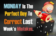 """Dear #Monday, thanks for having the word """"mon"""" in you. That's #french for """"mine"""". In case you weren't aware, Monday, but it makes me #think of you more as """"my day"""", & frankly that sounds like a much more #promising way to start the #week."""