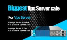 VPS Server Hosting Sale