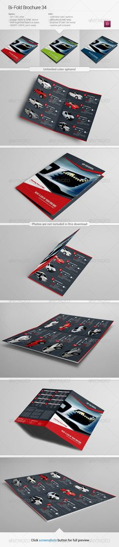 BiFold Brochure 34 — InDesign INDD #lend #bi • Available here → https://graphicriver.net/item/bifold-brochure-34/5897797?ref=pxcr