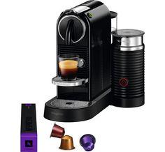 Nespresso CitiZ & Milk M195 Zwart - 1