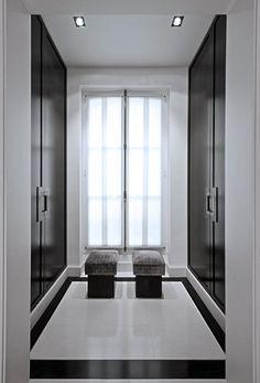 37 Luxury Walk In Closet Design Ideas and Pictures Luxury Interior, Modern Interior, Interior Architecture, Asian Interior, Floor Design, House Design, Dressing Room Closet, Dressing Rooms, Dressing Area