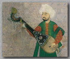 Ottoman musician with şeşhâne
