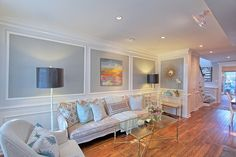 Benjamin Moore's Wickham Gray wall color | Old Town Home