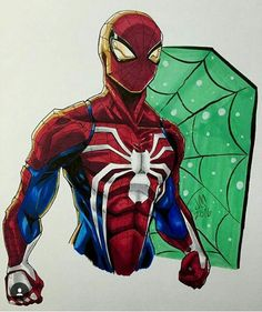 Spider-man ps4 style