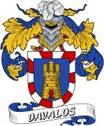 De Avalos Spanish Coat Of Arms from the website www.4crests.com #coatofarms…