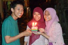 my birthday :)  thank you so much guys :)) lucky me to have you in my live *hug and kiss*