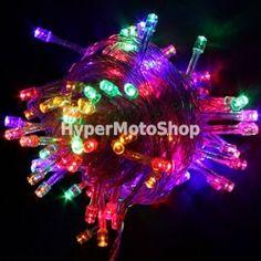 Vánoční osvětlení na stromeček 100x LED, 10m RGB