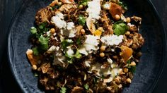 [Cauliflower and chickpea salad with almonds, fried onion and sultanas] These three salads from Melbourne's Alimentari are perfect for spring and summer entertaining. Cauliflower Dishes, Cauliflower Curry, Fancy Salads, Chickpea Salad Recipes, Eastern Cuisine, Fried Onions, Vegan Dishes, Light Recipes, Cooking Recipes
