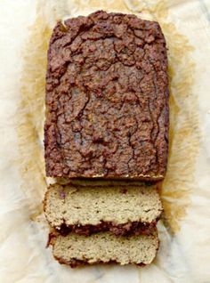 5 minute Zucchini Blender Bread Recipe from Primally Inspired (No Grains, No Added Sugar!)(also can use thermomix) Low Carb Desserts, Low Carb Recipes, Cooking Recipes, Healthy Recipes, Vegetarian Recipes, Easy Bread Recipes, Banana Bread Recipes, Paleo Breakfast, Breakfast Recipes