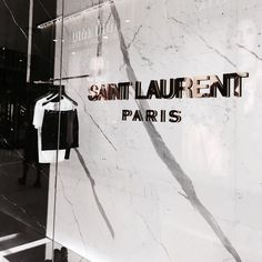 LUXURY BRANDS | Yves Saint Laurent Paris Store | www.bocadolobo.com