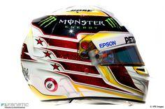Lewis Hamilton helmet, 2016