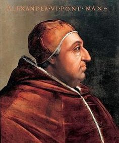 Alexander VI was Pope from 1492 to He is the most controversial of the secular popes of the Renaissance, and his surname became a byword for the debased standards of the papacy of that era. Originally Cardinal Borgia from Spain, Pope Alexander's cla Les Borgias, Lucrezia Borgia, Chateau Saint Ange, Italian Renaissance, Renaissance Dresses, Renaissance Art, Aragon, Fidel Castro, Vatican City