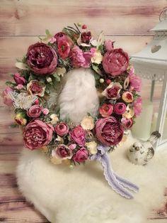 Skupina - Jar a veľkonočné inšpirácie Vence, Bude, Floral Wreath, Wreaths, Home Decor, Floral Crown, Decoration Home, Door Wreaths, Room Decor