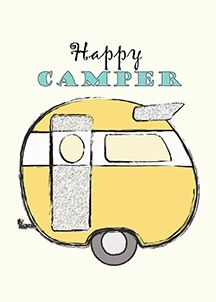 Happy Camper Digital Download