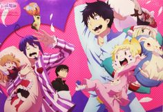 Blue Exorcist - Pillow Fight (brighter version)