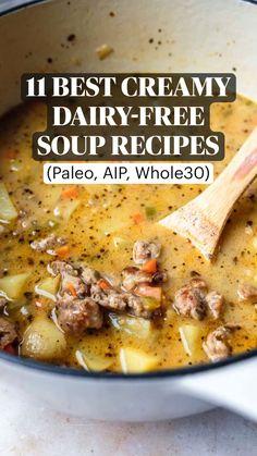 Whole 30 Recipes, Soup Recipes, Whole Food Recipes, Diet Recipes, Cooking Recipes, Healthy Recipes, Whole 30 Crockpot Recipes, Easy Paleo Dinner Recipes, Ham Recipes