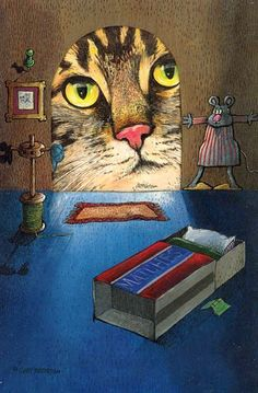 GARY PATERSON Calendar Cats