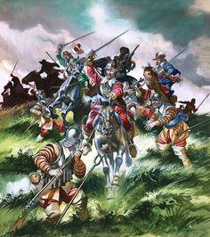 English Civil War by Ron Embleton