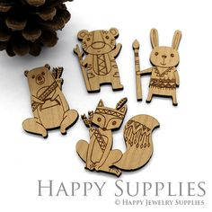 Large Handmade Lovely Animal Charms Pendants for jewelry making suppliesLC049