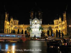The Victoria Terminus in Mumbai, once the headquarters of the Great Indian Peninsular Railway, is the culminating masterpiece of the Indo-Saracenic architecture. Colonial architecture in India followed developments not only from metropolis but also took inspiration from existing architecture in India.