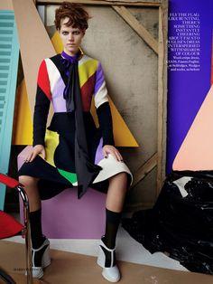 Freja Beha Erichsen by Mario Testino for Vogue UK September 2014