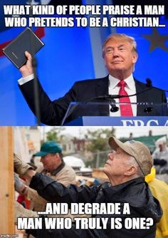 Trumpty Dumpty, the phony Christian Demon, & true Christian Values (former) President Jimmy Carter