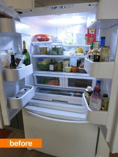Regina's Cure: Kitchen Cleaning, the Refrigerator Edition — Liveblogging the January Cure 2014