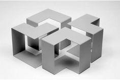 jigsaw L shape table - Google Search