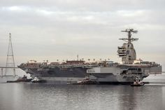 America's newest first-in-class aircraft carrier, the USS Gerald R. Ford (CVN 78), was christened on November 9th, 2013, and is going to be commissioned in 2016 after additional outfitting and testing.