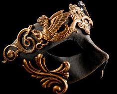 Mens Masquerade Mask for Men Roman Gladiator Thor - Masquerade Ball Mask Mens Masquerade Mask, Venetian Masquerade Masks, Masquerade Theme, Masquerade Ball Party, Bronze, Mardi Gras, Armadura Medieval, Carnival Masks, Carnival Costumes