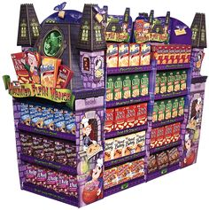 Keebler Halloween Store Displays by harry moore, via Behance Pos Display, Bottle Display, Display Design, Booth Design, Merchandising Displays, Store Displays, Retail Displays, Victorian Halloween, Supermarket Design