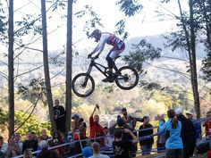 Britain's Steve Peat during the men's downhill final at the World Championships in Pietermaritzburg, South Africa. Peat finished 15th in a time of 4:07.262