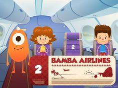 Bamba Airport kids app ios