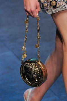 Dolce & Gabbana Details S/S '14 Coin Handbag