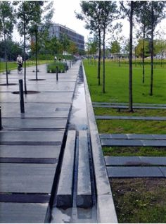Retrofitting SuDS in a contemporary fashion. For the case study see website